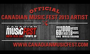 Tom Levin is playing at Canadian Music Week